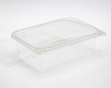 Rectangular box with flat connected lid   SN: 12557