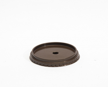Flat Cup lid with hole | SN: 12771H