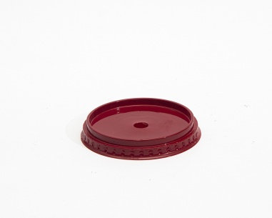 Flat Cup lid with hole | SN: 12771R